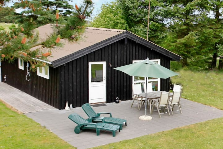 Quaint Holiday Home in Hirtshals with Terrace