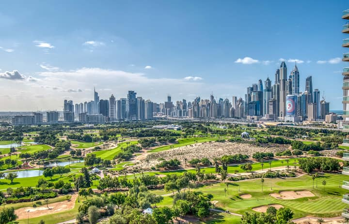 Luxurious Apt with Spectacular Golf Course Views