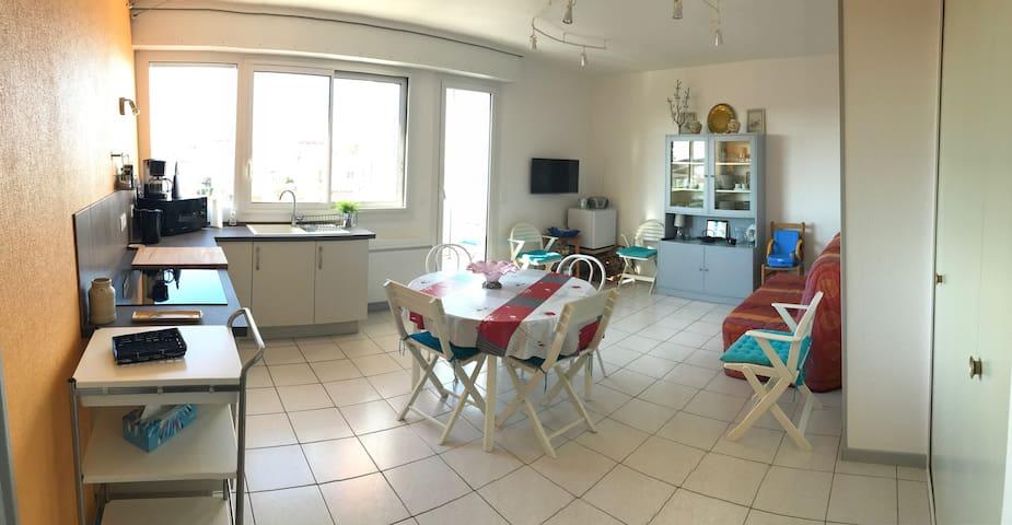 Appartement T2 proche toutes commodités et plages - Royan - Appartement en résidence