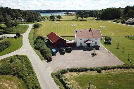 Great house with sea view on the swedish westcoast