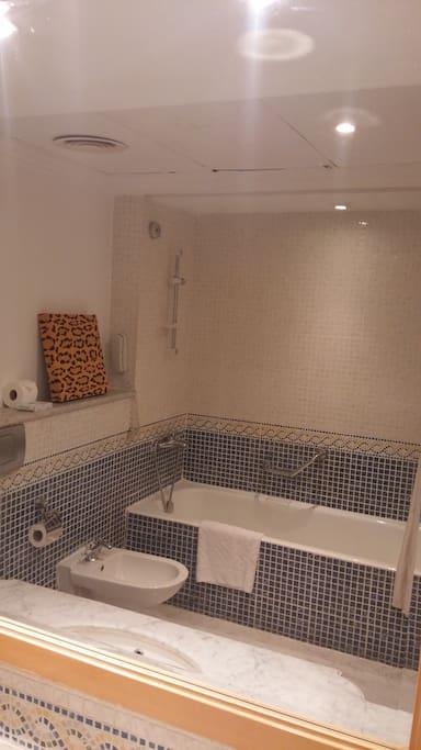 bathroom very large