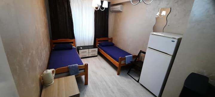 2 местный номер с двумя отдельными кроватями