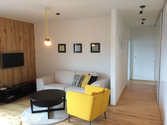 Cozy apartment in Krkonoše, center of Vrchlabí - Vrchlabí - Huoneisto