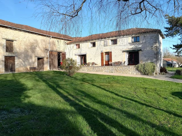 French escape by Charente river