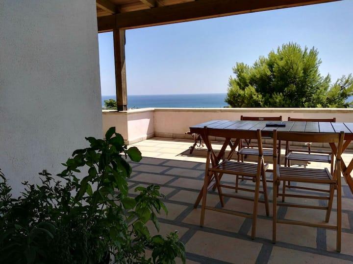 Villa Silvia: turquoise sea & relax
