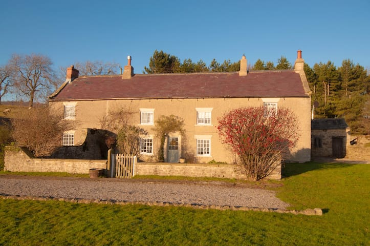 Secluded Yorkshire Dales cottage, panoramic views - East Hauxwell - Hus
