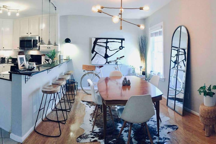 Urban Design A+ Location/Fully Furnished + Parking