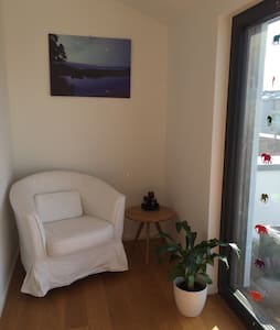 nice room with ensuite & terrace - Konstanz - Hus