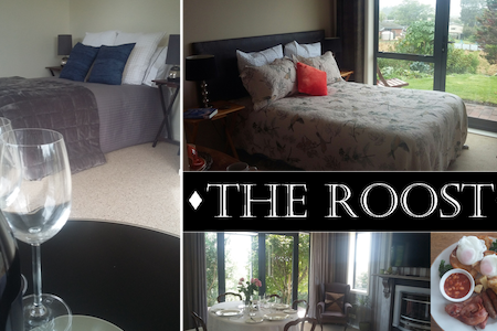 Package deal: 2 Separate Private Rooms - The Roost - Waiuku - Bed & Breakfast