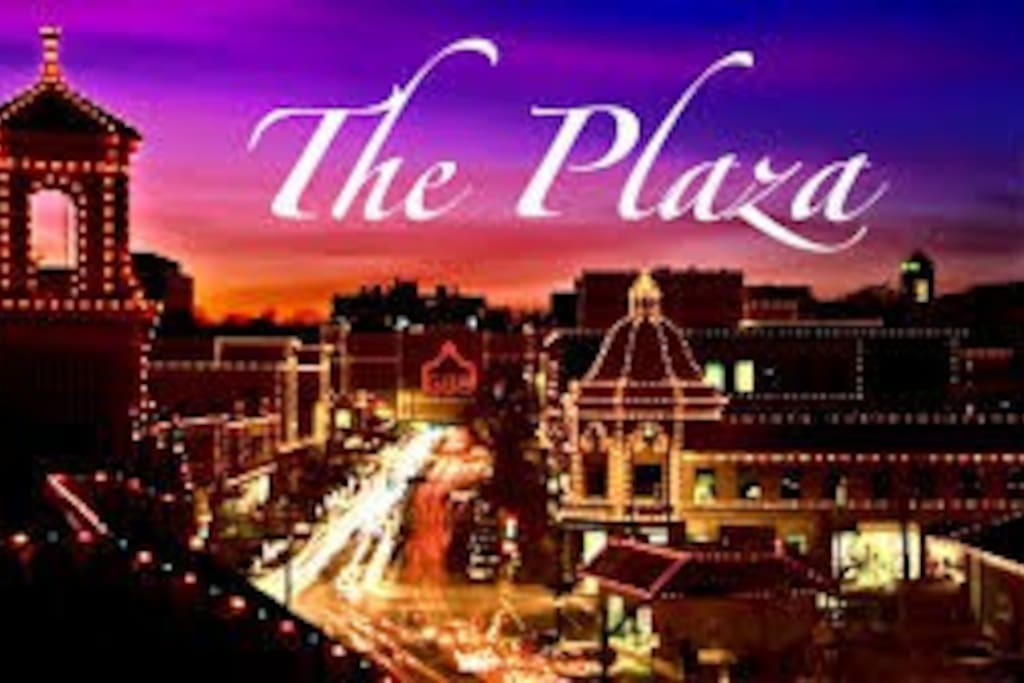 I'm located less than 1 mile / less than a 5 min drive to the famous Country Club Plaza dinner, drinks, shopping, or go see a movie.