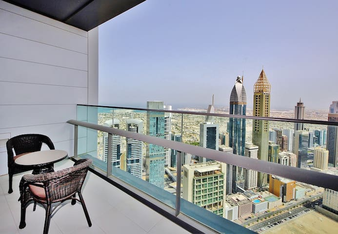 Spacious 2BR with Dubai skyline view - Dubai - Apartamento