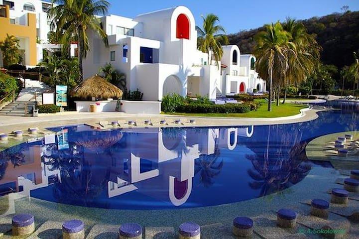 CONDOMINIO EN HOTEL CAMINO REAL HUX - Santa María Huatulco - Condomínio