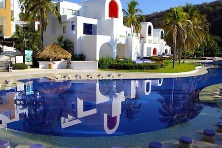 CONDOMINIO EN HOTEL CAMINO REAL HUX - Santa María Huatulco - Lyxvåning