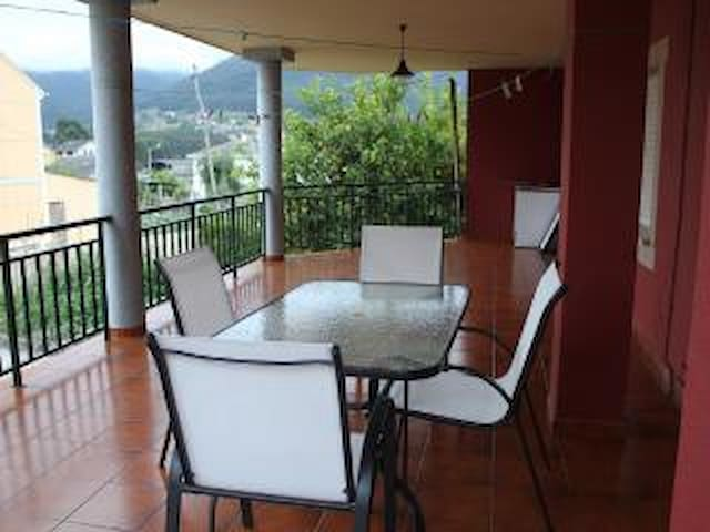 Apartamento con amplia terraza y jardin en Viveiro - Viveiro - Huoneisto