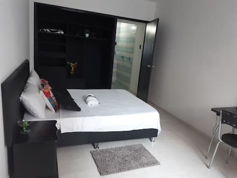 Hermosa Habitacion con baño privado 203