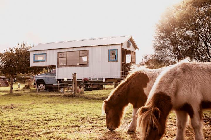 Torquay Farm Stay Blue Studio Truck