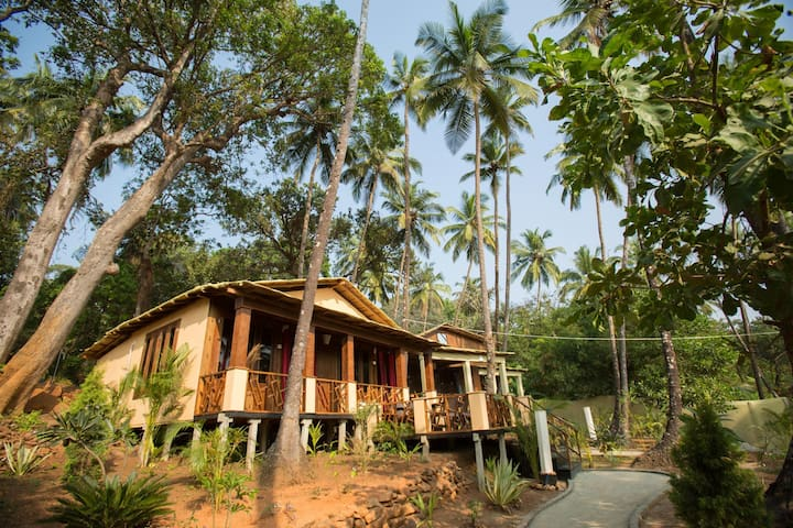 Patnem - Family Suite - 2 bed rooms - Canacona - Bed & Breakfast
