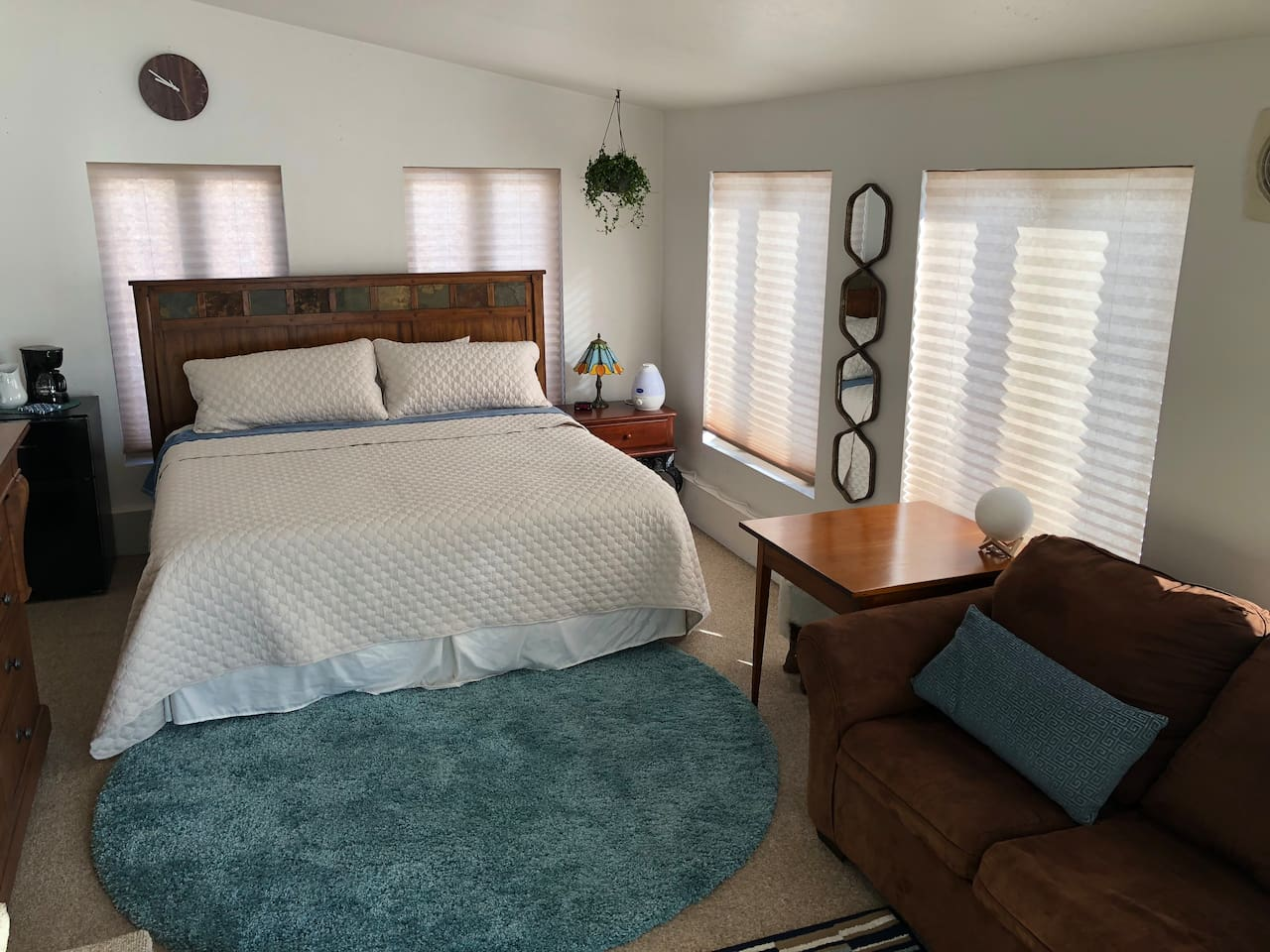 Memory Foam Topped King Bed