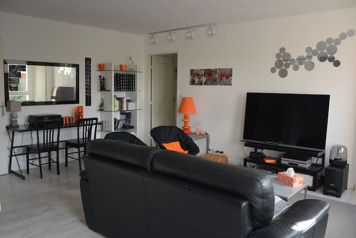 Quiet & sweet large apartement in Amiens - 100 m2