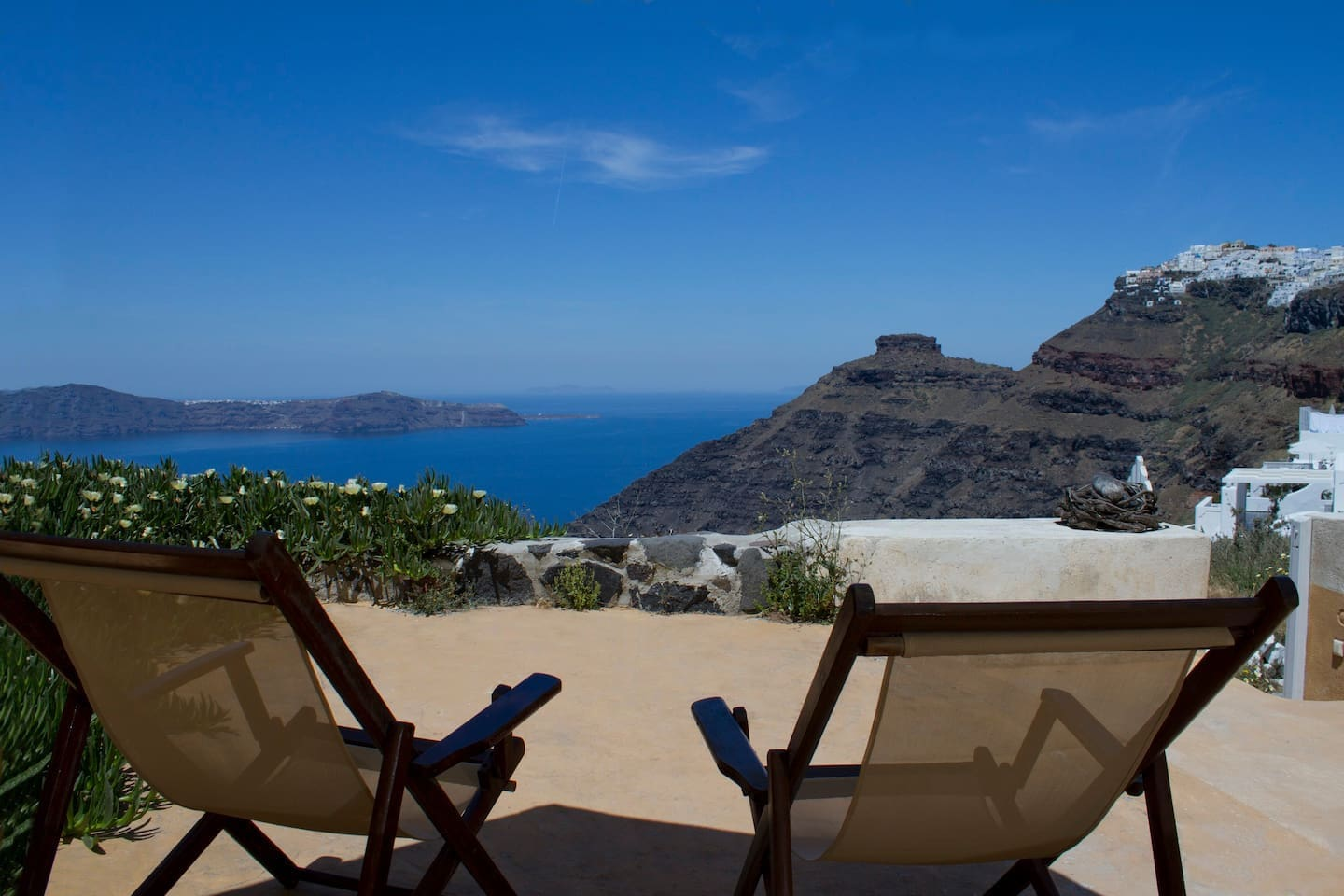 endless sea views from the 100 sq. meter terrace!