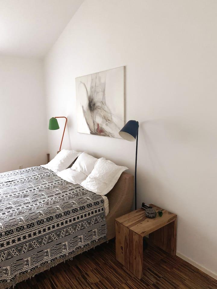 Schönes Zimmer, tolles Ambiente