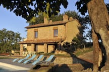 Tuscan holiday house with private pool close to Florence
