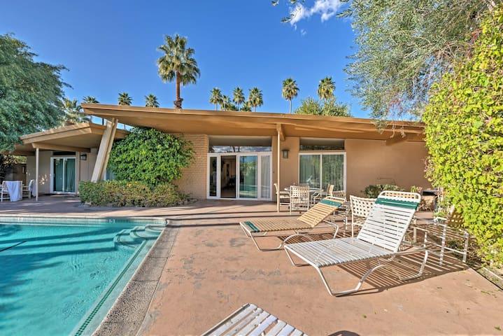 Palm Desert Duplex w/ Pool Access & Patio!