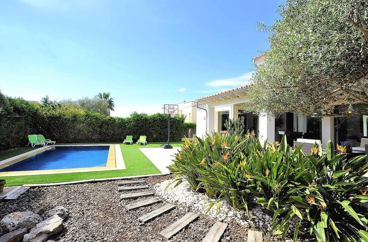 Detached villa in Sant Marçal 6pax
