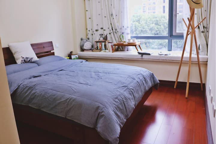 煦庐(A)——舒适安静的独立房间,高档小区,超nice的房东和萌萌的狗 - Nanjing - Flat