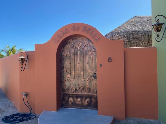 Casa de Bella: private guest suite