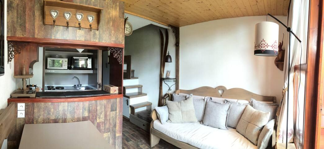 ARC 1800 : Charmant Duplex aux pieds des Pistes ! - Bourg-Saint-Maurice - Departamento