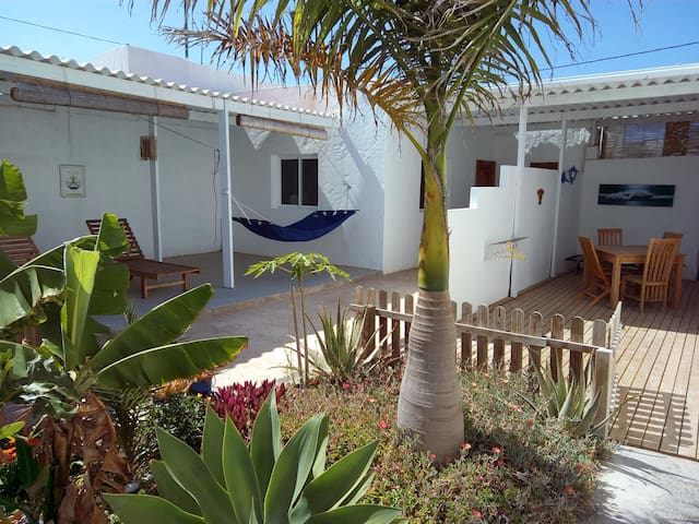 Patio 4pers wifi piscine bbq - LAJARES - Wohnung