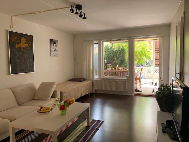Cozy Apartment in Gated Community, Central Malmö