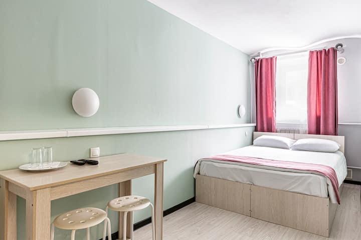 Mark Inn Бюджетный номер с общей ванной комнатой
