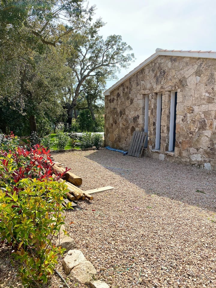 Villa with 2 bedrooms in Lecci, with wonderful mountain view, private pool, enclosed garden - 4 km from the beach
