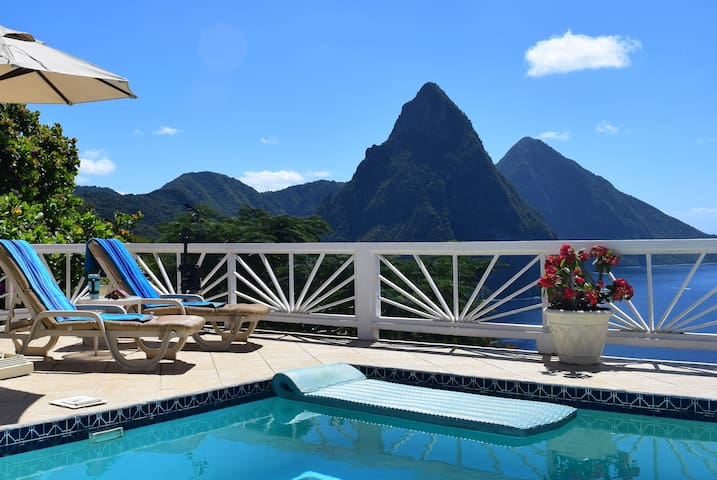 An enchanting oasis of tranquility in Soufriere!