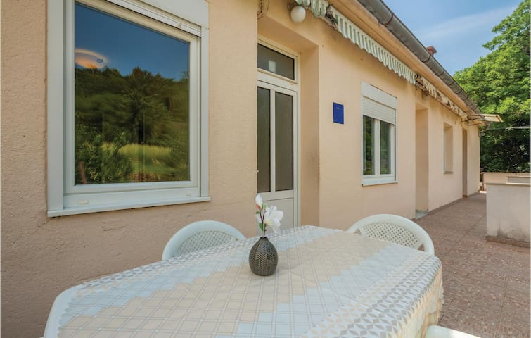 Stunning home in Jablanac with WiFi and 1 Bedrooms