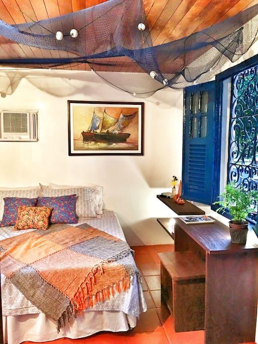 Suite w/ Bonus Room / Suite Praiana c/ Quarto Conjugado