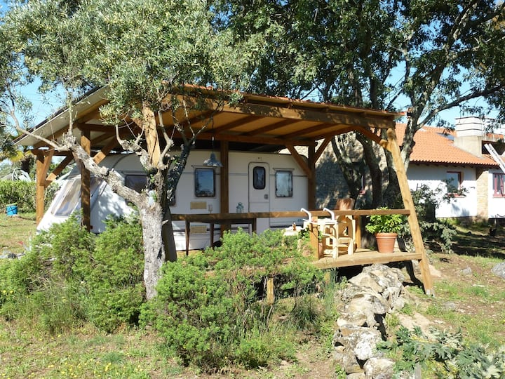 Caravana Andorinha, rust, ruimte & natuur