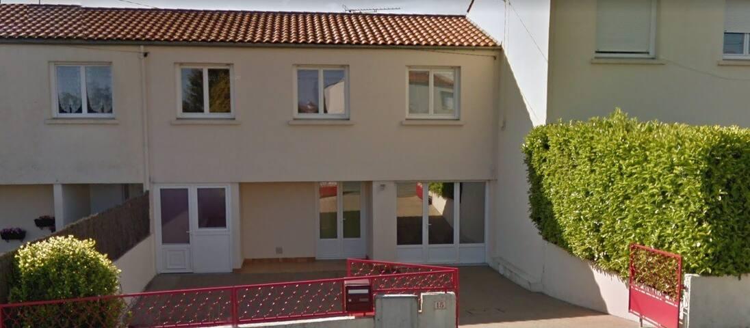 Maison 120m² avec 3 chambres à 30mn du Puy du fou.