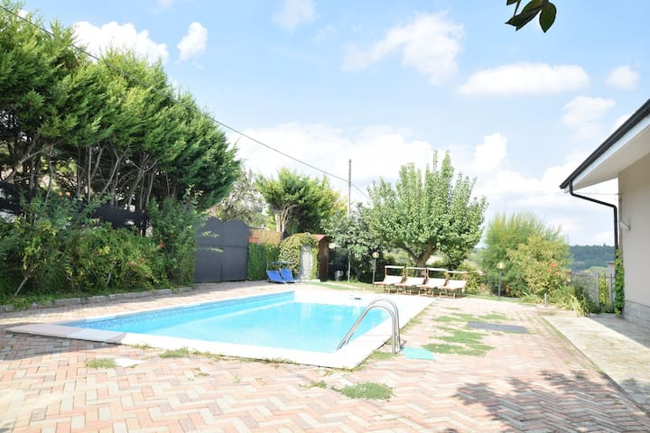 Charming Holiday Home in Agliano Terme with Private Pool