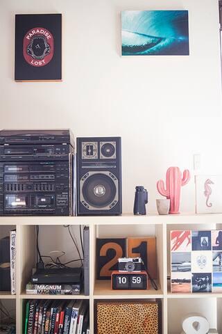 Listen to our vinyls!