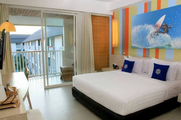 Deluxe Room with Spacious Balcony #freewifi