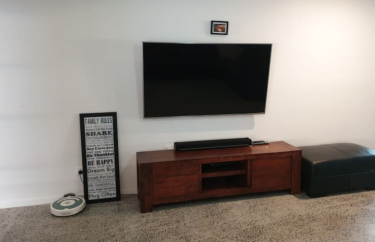 Large 65 inch TV
