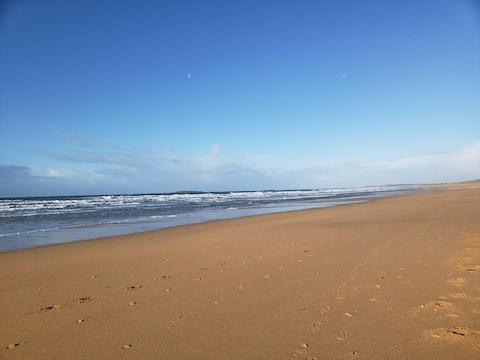 Maisonnette à 15 mm à pied de la plage - KERHILLIO