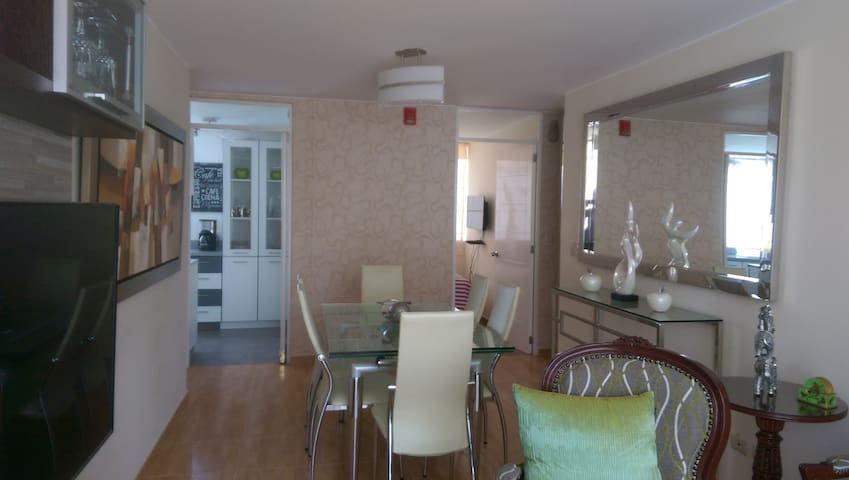Enjoy a luxury apartment in San Miguel ,Maranga