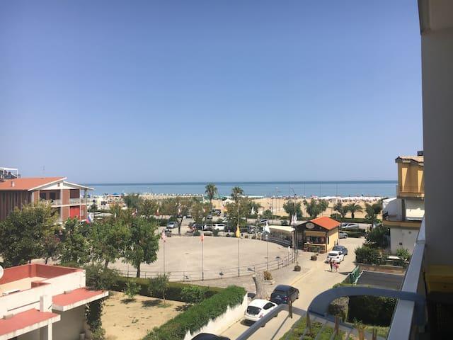 Acogedor apartamento frente del mar