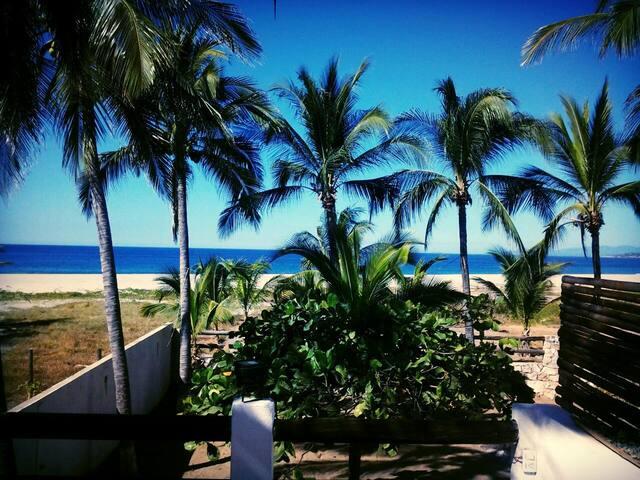 Cuarto privado con vista al mar - Puerto Escondido - Hostel