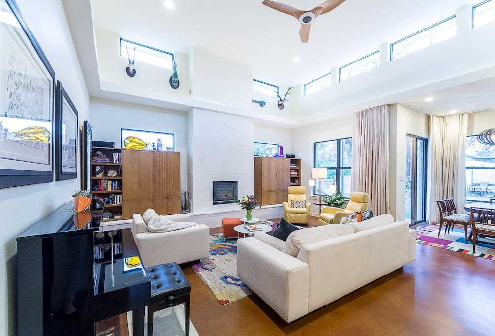 Ample Seating in the Living Space