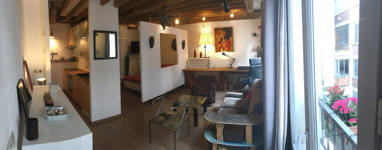 2 rooms charming apartment Canal Saint-Martin